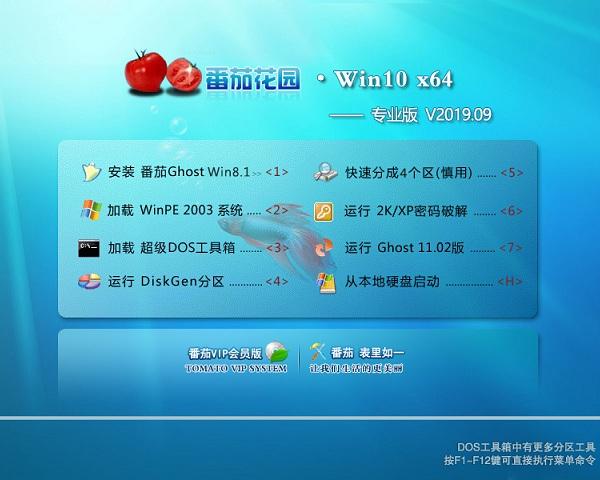 番茄花园 Win10 32位 专业版 V2019.09